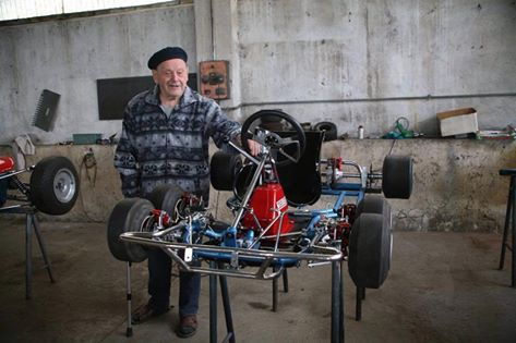 Mr. Tony Kart, Antonio Bosio Passes