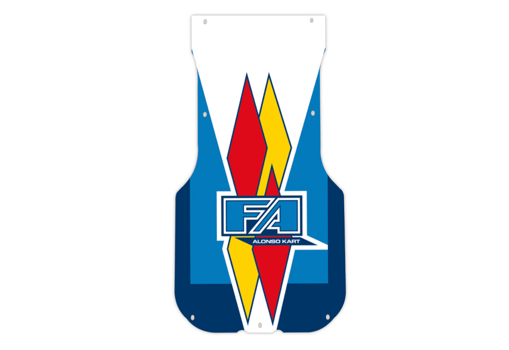 F.A. Floor-Plate Sticker