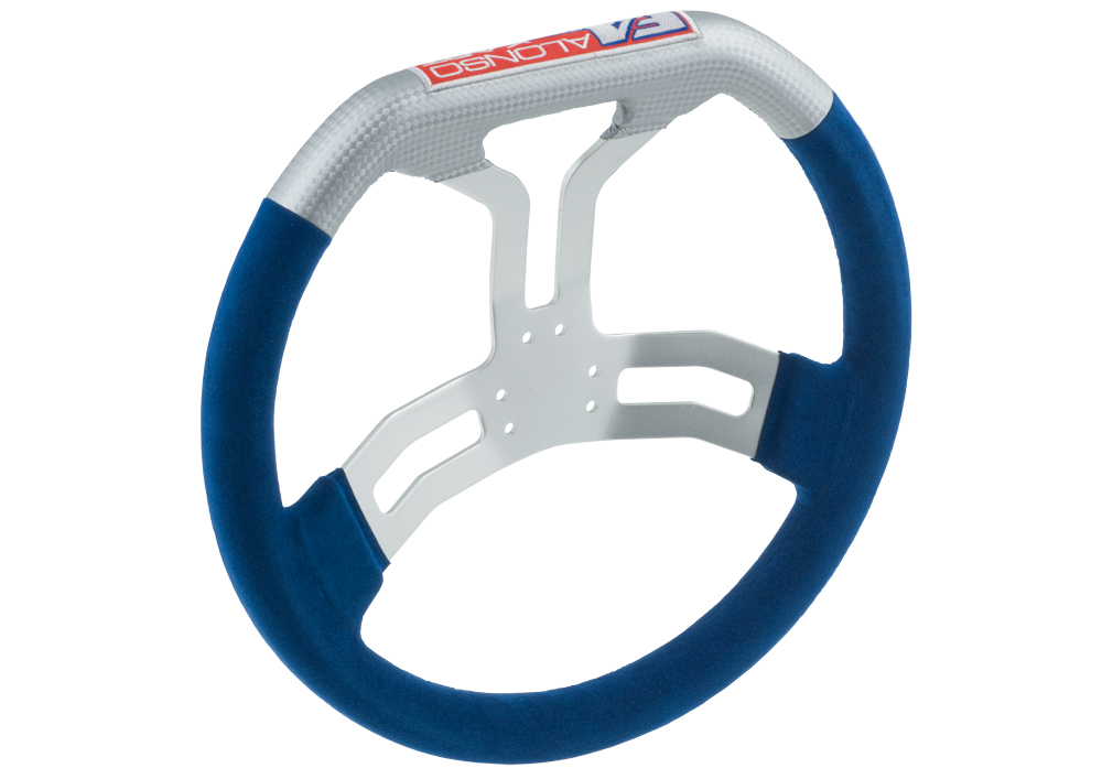 6 Holes FA Steering Wheel In Alkantara