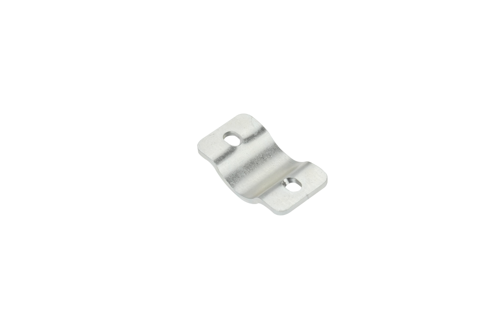 Threaded plate for engine battery's support