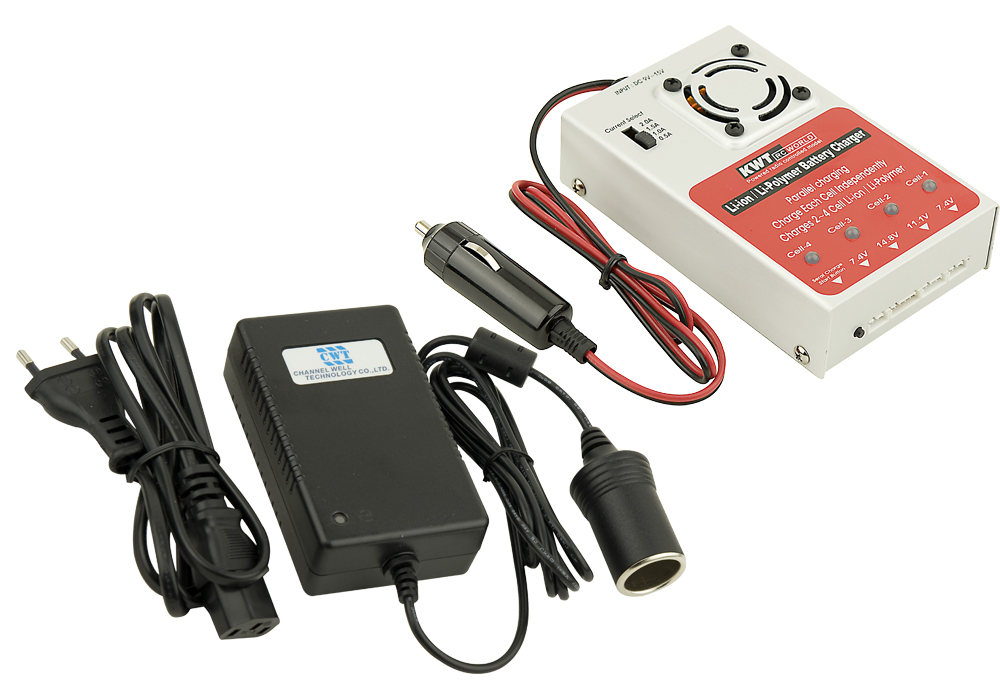 Battery's charger and adapter