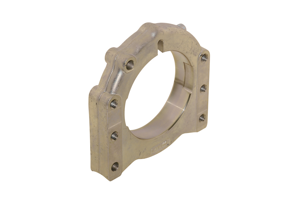 Axle Forged Al Support ∅ 40 - 50 mm 2 Position