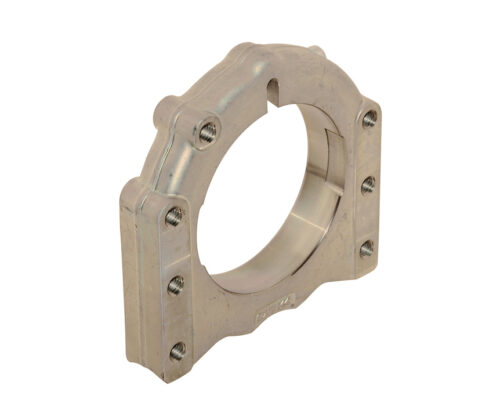 Axle Forged Al Support ∅ 40 - 50 mm 3 Position - Central / Right