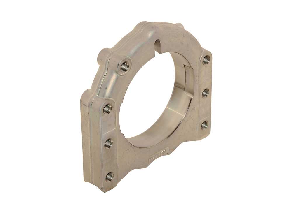 Axle Forged Al Support ∅ 40 - 50 mm 3 Position - Left
