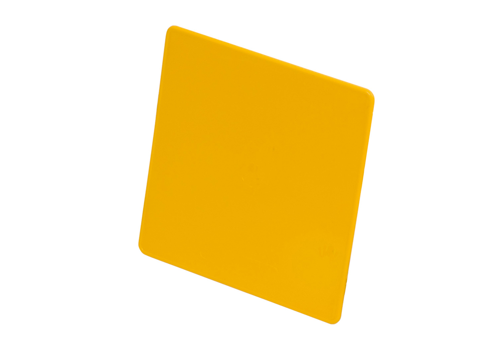 Plastic Yellow Number-Plate